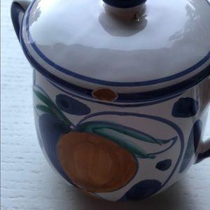 Dining - Ceramic sugar/creamer set